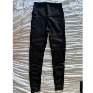 Alo Yoga Moto Leggings (black)